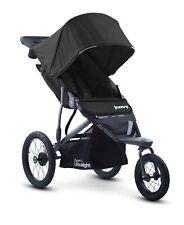 Joovy Zoom 360 Ultralight Stroller, Extra Lg Air Filled Tires, Jogging, Black