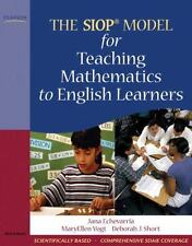 SIOP: The SIOP Model for Teaching Mathematics to English Learners by Jana...