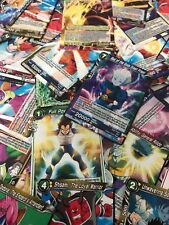 BANDAI DragonBall SUPER Trading Card Game TCG : 100 ASSORTED CARDS - ALL SETS