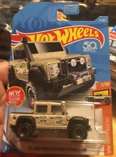 15 Land Rover Defender Double Cab #31 2018 Hot Wheels