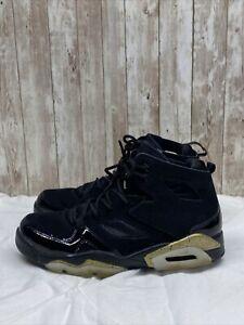 "Jordan Flight Club 91 ""Black Metallic Gold"", 555475-031, Men's Size 8."