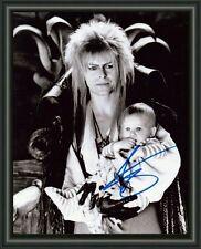 Labyrinth - DAVID BOWIE - A4 SIGNED AUTOGRAPHED PHOTO POSTER  FREE POST