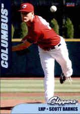 2012 Columbus Clippers Choice #2 Scott Barnes St John's University Baseball Card