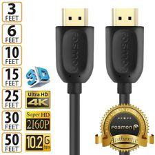 HDMI 1.4 4K 3D Hdtv Pc Xbox ONE PS4 высокоскоростной кабель вилка 3 6 10 15 25 30 50 футов (примерно 15.24 м)