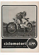 Pubblicità 1971 MOTO DEMM MILANO MOTOR advertising werbung publicitè reklame