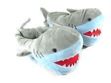 OliaDesign Plush Children's Shark Slippers One Size for 4 Year+