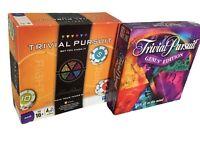Trivial Pursuit BUNDLE - Genus Edition - Bet You Know It - 2 X Board Games