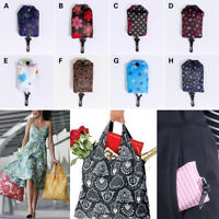 Grocery Storage Handbag Foldable Key Chain Tote Pouch Reusable Shopping Bag 2018