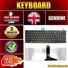 REPLACEMENT TOSHIBA PSCG6E-08F01CEN LAPTOP BLACK UK LAYOUT ENGLISH KEYBORD