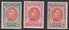 BELGIUM : 1915 Red Cross set SG 157-9 l.h. mint