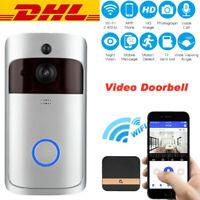 Türklingel mit Kamera WiFi Video Funkklingel Ring Doorbell HD WLAN Nachtsicht IR