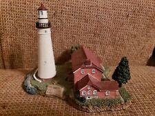 """Fort Gratiot Light Michigan Lighthouse 1829 Harbour Lights ©2000 5.5"""" Tall"""