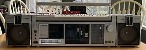FISHER SC-300K with synthesizer Cassette Deck Boombox Ghettoblaster