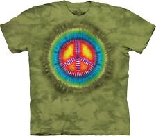 Peace Tie-Dye Inspirational Shirt Adult Unisex The Mountain