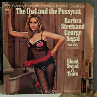 "BARBRA STREISAND - The Owl And The Pussycat Soundtrack- 12"" Vinyl Record LP - VG"