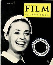 Jeanne Moreau Luis Bunuel articles reviews FILM QUARTERLY mag w/Pix Summer,1967