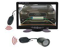 """Rückfahrkamera 25 mm Ø, 7 """" Monitor Funkübertrager passt für Audi"""