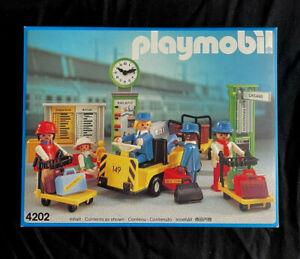 Playmobil 4202 - Passenger Train Station Set - Vintage MIB- Rare - 1987
