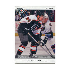 2002-03 In The Game Be A Player Complete Memorabilia Update Series 100-Card Set