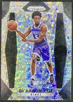 2017 Panini Prizm Fast Break Prizm Silver De'Aaron Fox Rookie RC #24