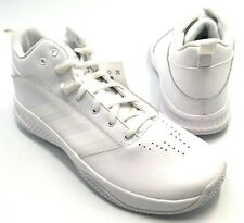 adidas Men's White Cloudfoam Ilation 2.0 Size 12 Athletic Basketball Shoes New