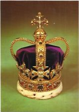 St. Edward's Crown ( The Crown of England ) Post Card.