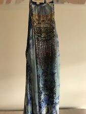Camilla Long Dress With Split Overlay Size 1