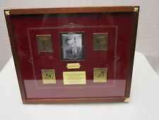 Disney Picture Frame Walt Global Pin Release Limited Edition 1000 12.75 X 12.75