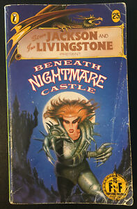 BENEATH NIGHTMARE CASTLE Fighting Fantasy #25 1987 1st/1st Bronze Dragon Good