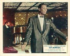Istanbul Original Lobby Carte Nat King Cole Spectacle Sur Scène