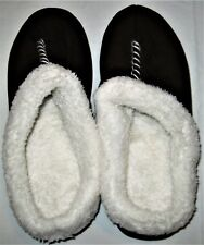 dearfoams Machine Washable Slip Resistant Indoor/Outdoor Slippers Womens L 9/10