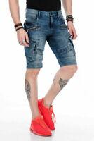 Cipo & Baxx NORWICH Mens Short Jeans Denim CK178 Shorts All Sizes