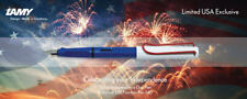 Lamy 014 Safari Extra Fine Nib Special Independence Day Fountain Pen - LUSA1EF
