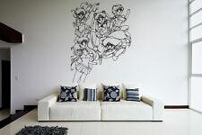 Wall Vinyl Sticker Decal Anime Manga Sailor Moon Girl VY207