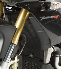 Aprilia V4 Tuono 2012 R&G Racing Radiator Guard RAD0109BK Black