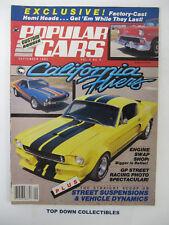 Popular Cars/ Custom Rodder  Sept. 1983   Jeff Grunda, '58 Corvette