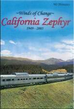 Winds of Change California Zephyr 1949-2005 DVD NEW Feather River Vista Domes