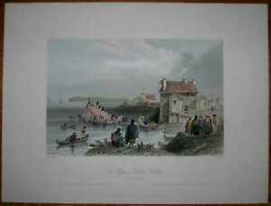 1840 Bartlett print CANADA: SAINT-REGIS (AKWESASNE), QUEBEC (#35)