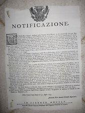 Q482-TOSCANA-FIERA DI BIENTINA 1755
