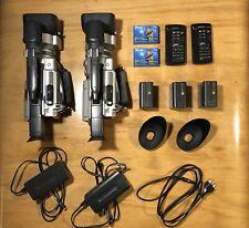 2 X Sony DCR-VX2000   Mini DV Digital Handycams With Accessoires