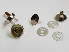 2 x Metall Dreh Verschluss 19x42mm Mappen Handtaschenverschluss Steckschließe