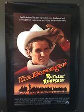 Rustlers Rhapsody Original Movie Poster (Paramount, 1985) - 27 x 41 Fine