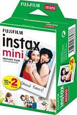 Fujifilm Polaroid Instant Camera Photos Instax Mini Film Pack Of 20 Shots