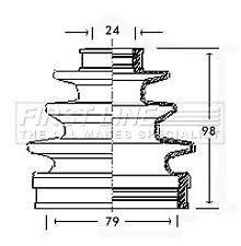 CV Joint Boot Kit fits TOYOTA RAV-4 SXA11 2.0 Front Outer 97 to 00 3S-FE C.V.
