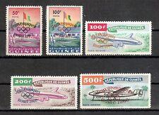Guinea Michelnummer 49 - 53 postfrisch ( Übersee : 1184)
