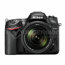 Appareils photo numériques noirs Nikon D7200