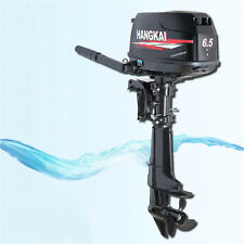 SALE 6.5HP Outboard Motor Fishing Boat Engine UPDATED w/4 Stroke Water Cool USA
