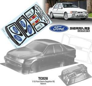 Ford Sapphire Cosworth 190mm Tamiya TT01 TT02 257mm