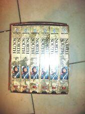 North and South Book 1 Civil War Mini-Series  VHS 1993 6-Tape Set