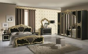 6PSC BEAUTIFUL ITALIAN BEDROOM SET FURNITURE CLEANRCE OFFER